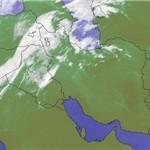 نفوذ سامانه بارشی به استان زنجان از روز دوشنبه