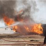 واژگونی تانکر حامل سوخت در مرند چهار کشته برجای گذاشت+تصاویر