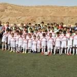 برگزاری کلاس آموزش فوتبال برای فرزندان پاکبانان تبریزی