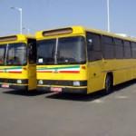 اعتصاب و تجمع رانندگان اتوبوس در زنجان