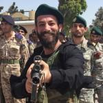 عکس/ خواننده زیرزمینی در پادگان نظامی