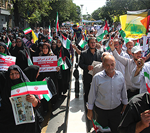 بانگ مرگ بر آمریکا ، مرگ بر اسراییل و مرگ بر آل سعود در آذربایجانشرقی طنین انداز شد