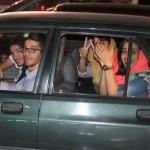 تصاویر / جشن توافق هسته ای در تبریز