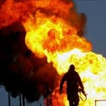 آتش سوزی گسترده در آبیدر سنندج