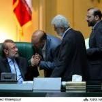 لاریجانی درباره بررسی توافق هسته ای به نمایندگان چه گفت؟