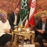 تبریز، مصمم به بهرهگیری از ارتباطات بینالمللی است