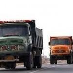 درآمد ماهانه یک راننده کامیونها