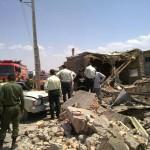 انفجار در کارگاه فشفشه سازی در تبریز+ عکس