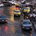 افت دما و بارش باران تبریزی ها را غافلگیر کرد