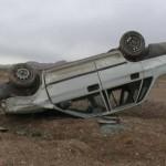 ۵ کشته و زخمی در واژگونی پراید در محور اهر – تبریز
