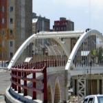 ورودی تبریز زیبا تر می شود / پل حمید افتتاح شد
