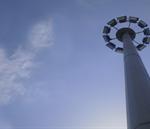 احداث برجهای نوری با هدف تامین روشنایی معابر در منطقه غرب تبریز