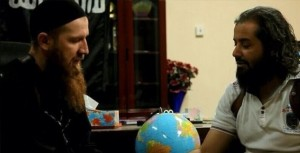 ابویوسف المصری هنگام بیعت با داعش