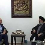ظریف با سید حسن نصرالله دیدار کرد