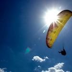 تصاویر/مسابقات پاراگلایدر در اردبیل