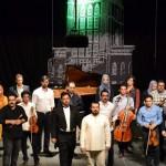 """تصاویر/اجرای صحنهای موسیقایی """"ساعاتین سسی"""" در تبریز"""