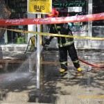 انفجار در خیابان باکری ارومیه یک کشته بر جا گذاشت+تصاویر