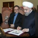 رونمایی از سکه طلا و ایران چک جدید (عکس)