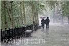 بارش باران وکاهش دما در استان آذربایجان شرقی طی ۴ روز آینده