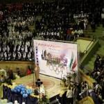 تصاویری از زیبایی های افتتاحیه المپیاد ورزشی دانش آموزان دختر در تبریز