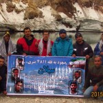 صعود به قله سبلان/ یادبود شهدای مدافع حرم+تصاویر