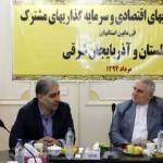 استانداران آذربایجان شرقی و گلستان تفاهم نامه همکاری اقتصادی امضا کردند