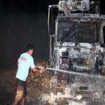 حمله مجدد به کامیونهای ایرانی در ترکیه
