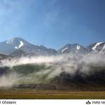 اولین بارش برف تابستانی در کوه سبلان/ضرورت انتخاب زمان مناسب صعود