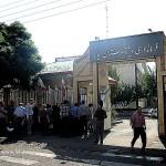 تجمع اعضای تعاونی ۸ مسکن مهر مقابل فرمانداری میانه