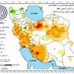 خشکسالی شدید در آذربایجان شرقی طی ۳ ماه گذشته