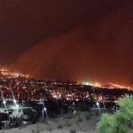 تصاویری دیدنی از طوفان تهران