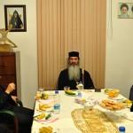 دیدار مدیر کل ورزش و جوانان آذربایجانشرقی با اسقف اعظم ارامنه آذربایجان