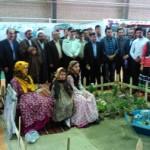 آغاز بکار نمایشگاه ملی اقوام در اردبیل