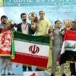 تیم ملی زورخانه ای و کشتی پهلوانی ایران قهرمان آسیا شد