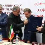 اعطای «نشانتبریز» و «نشانشهروندافتخاری» به وزیر ارتباطات کشورمان و وزیر اقتصاد جمهوریآذربایجان + تصاویر