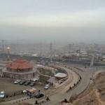 تصاویر/چهره آلوده شهر از فراز بام تبریز