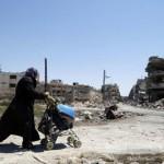 تصاویر/ شهر جنگ زده حمص