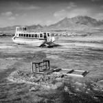 تصاویر/ دریاچه ارومیه هنوز خیس نشده