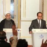 تاکید روسای جمهور ایران و فرانسه بر «احیای روابط» و «مبارزه با تروریسم»