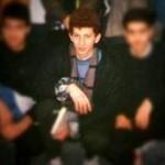 عکس/ بابک زنجانی در دوران دبیرستان
