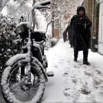 تصاویر/ بارش برف در تبریز
