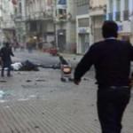 انفجار انتحاری در خیابان استقلال استانبول