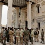 تسلط کامل ارتش سوریه بر شهر پالمیرا
