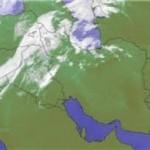 ورود سامانه بارشی به آذربایجان در اولین روز سال