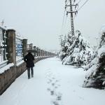 تصاویر/ برف بهاری در تبریز
