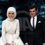 تصاویر/لباس و ماشین عروس دختراردوغان