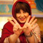 عکس/ کری خوانی بازیگر زن به شیوه جدید
