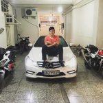 عکس/ پارکینگ خانه سردار آزمون