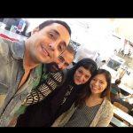 سلفی ۳ بازیگر قبل از انفجار ترکیه+عکس