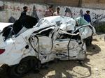 بی احتیاطی در رانندگی، زن و مرد را به کام مرگ کشاند